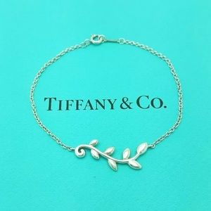 Tiffany & Co. Jewelry - Tiffany & Co Olive Leaf Bracelet